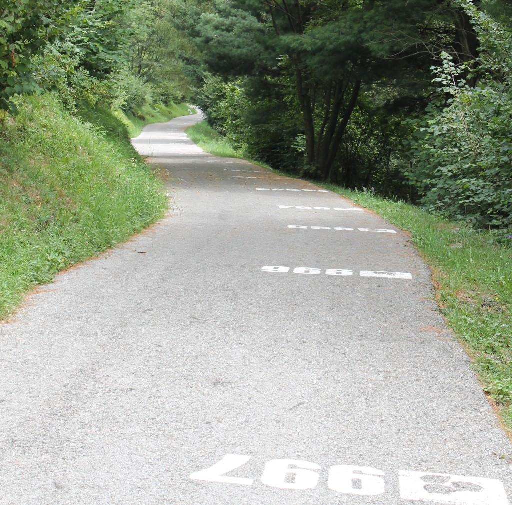 Le Muro di Sormano offre une ligne droite vertigineuse à plus de 20% dans le premier kilomètre.