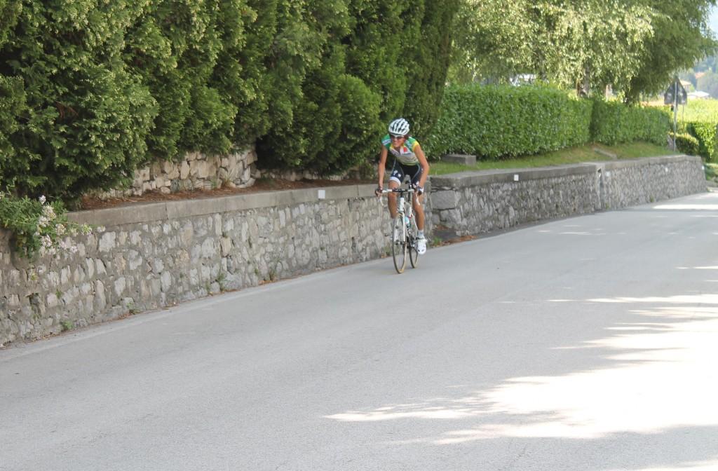 Les derniers mètres du Madonna del Ghisallo sont terribles, après un replat casse-pattes.