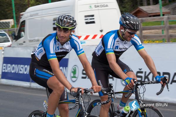 Andreas Schillinger et Jan Barta
