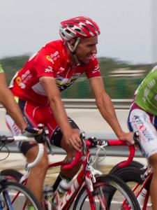 Juan Jose Cobo, lors de sa Vuelta victorieuse