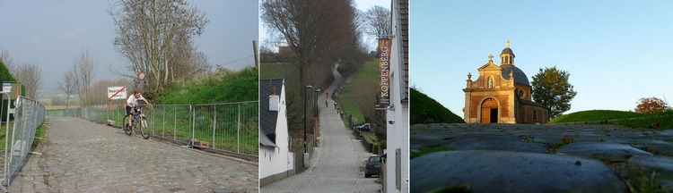 Le Vieux Kwaremont, le Koppenberg et le Mur de Grammont - Wikicommons