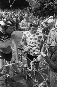 Lucien van Impe, 6 fois vainqueur. Seul Virenque (7) a fait mieux.