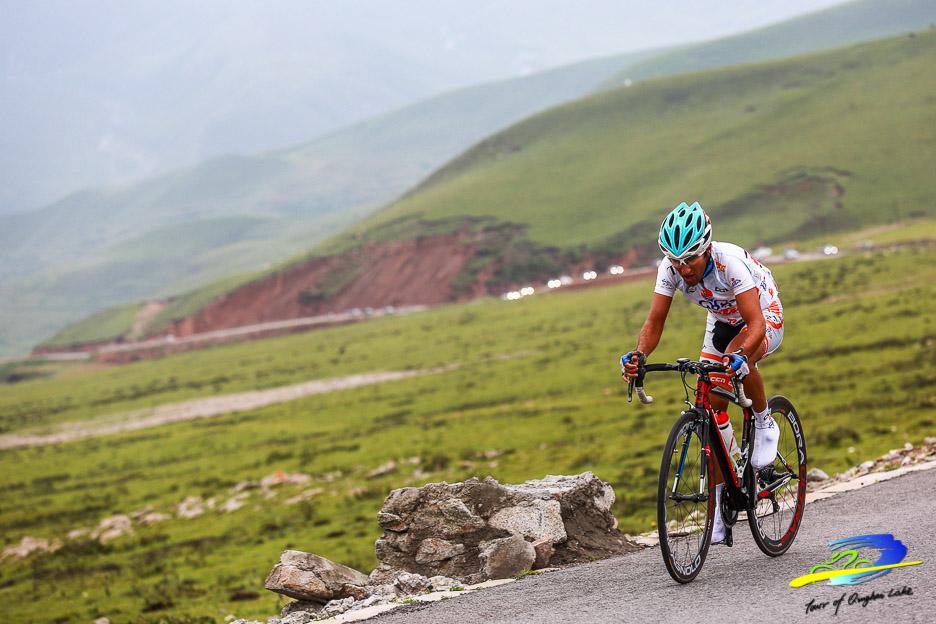 Les iraniens, et tout particulièrement les coureurs de la formation Tabriz Petrochemical, sont toujours à leur aise sur cette course.