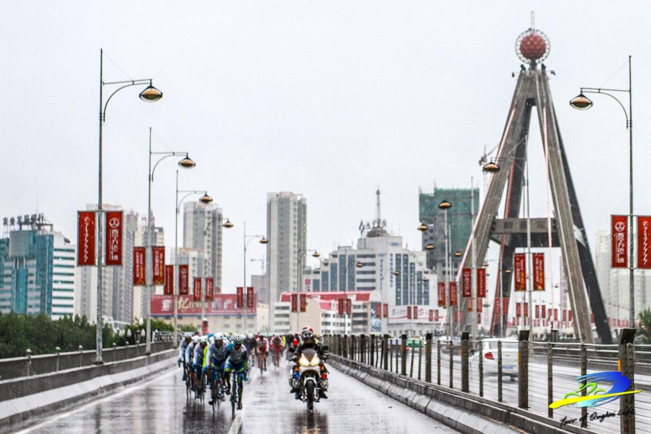 Seulement un jour de pluie cette année, alors qu'habituellement la région est très arrosée. Les coureurs ont certanement apprécié.