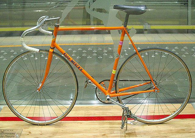 Eddy Merckx, record de l'heure