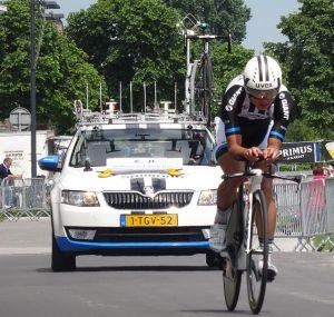 Malgré un faible niveau, Ji a attiré l'attention lors du dernier Tour de France.