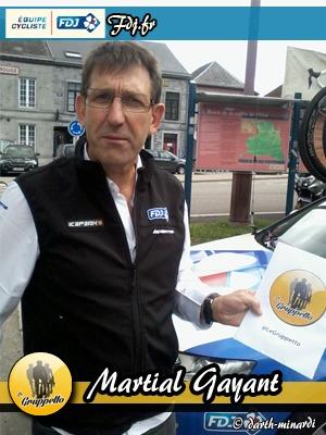 Martial Gayant - FDJ.fr