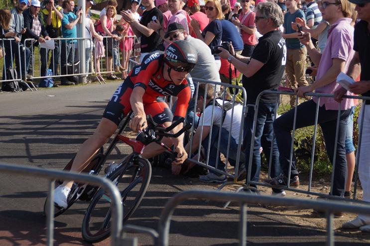 Stefan Kung sur son 2ème Giro lors duquel il finira 7ème du chrono de Chianti