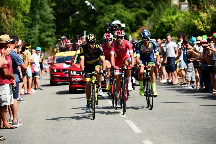 Échappée sur le Tour de France 2018